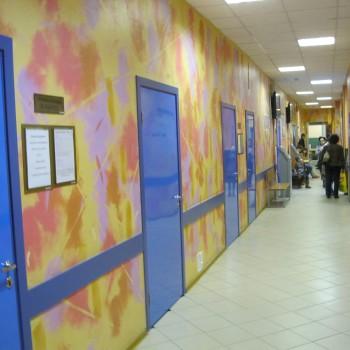 Двери облицованные пластиком cpl для больницы