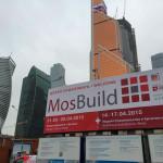 Плакат главной строительной выставки «MosBuild 2015»