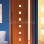 ламинированная дверь в интерьере