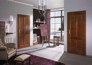Мазонитовые окрашенные двери в интерьере