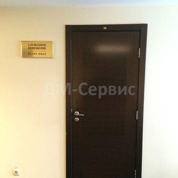 Двери олицованная шпоном венге