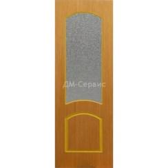 Межкомнатная шпонированная дверь «Наполеон» (со стеклом)