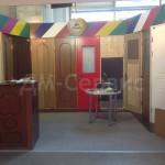 Стенд дверей на выставке от производителя ДМ-Сервис