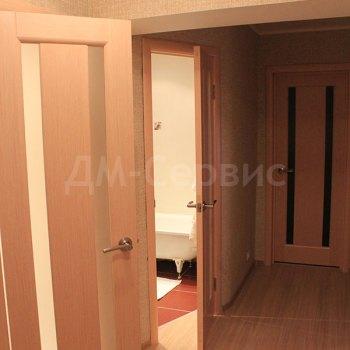Межкомнатные двери цвета беленый дуб в ванную комнату и туалет