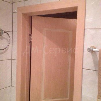 Дверь облицованная шпоном файн-лайн для ванной