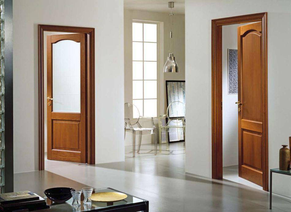двери для загородного дома в интерьере