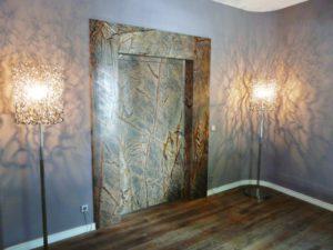 каменные двери для лифта