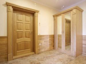 двери из тополя
