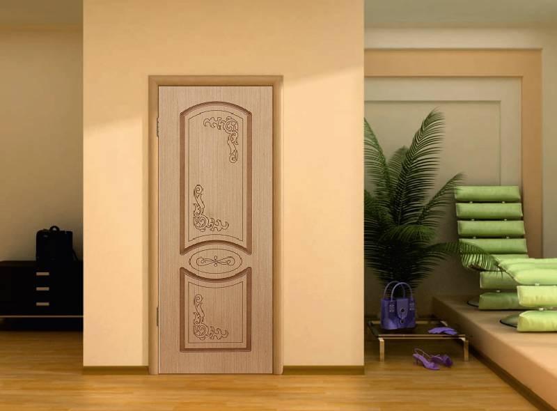 межкомнатная глухая дверь фабрики ковров