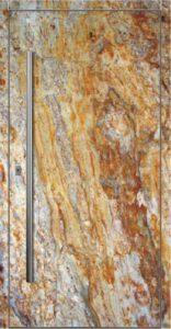 двери с использованием натурального камня