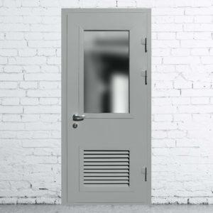 металлическая техническая дверь
