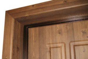 отделка металлической двери мдф панелями