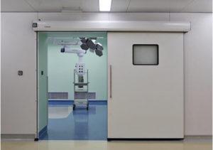 раздвижные двери для медицинских учреждений