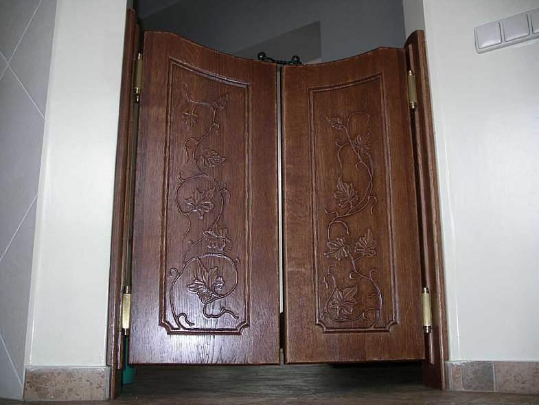 салунные двери