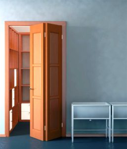 складные двери для кладовки