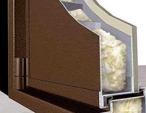 утепление дверной коробки