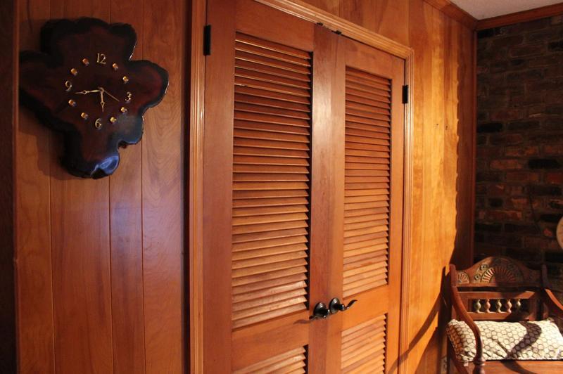 жалюзийные двери в стиле кантри