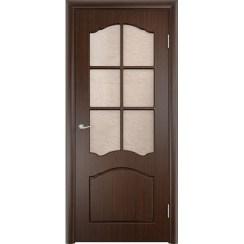 Межкомнатная дверь с пленкой ПВХ «Лидия ДО» (со стеклом)