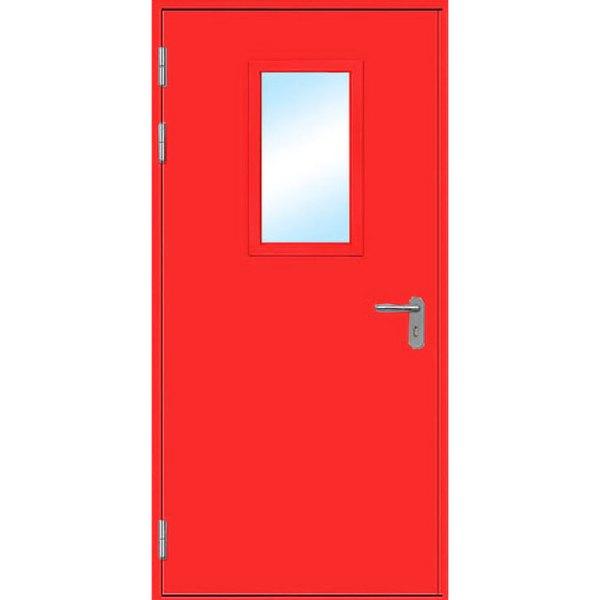 Металлическая противопожарная дверь «ПДО-1»