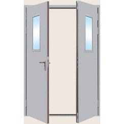 Металлическая противопожарная дверь «ПДО-3»
