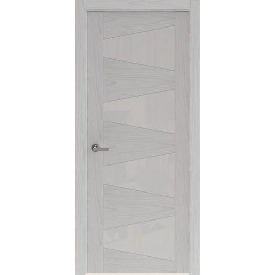 Межкомнатная шпонированная дверь «Rona-2» (со стеклом)
