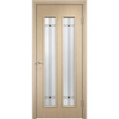 Межкомнатная дверь экошпон «C-27 Ф» (со стеклом)