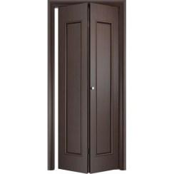 Складная дверь «книжка» C-21 ДГ (глухая)