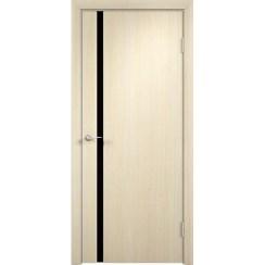 Межкомнатная дверь с пленкой ПВХ «Порто-1 ДО» (со стеклом)
