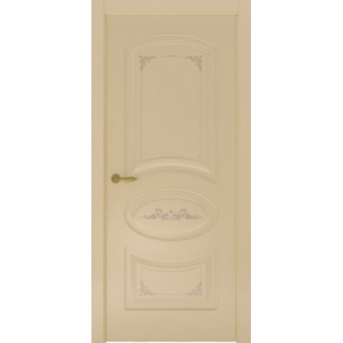 Межкомнатная дверь с эмалью «Flora 1» (глухая)