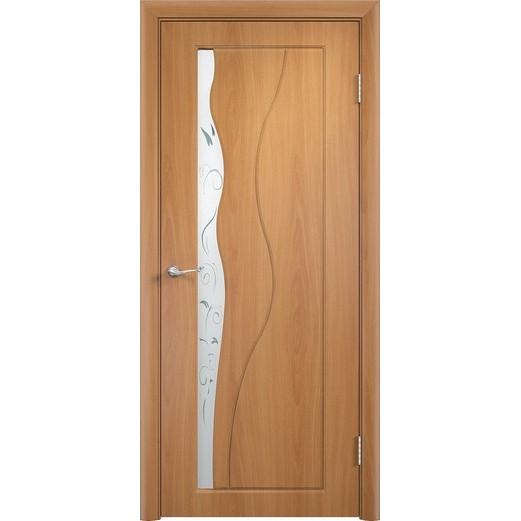 Межкомнатная дверь с пленкой ПВХ «Бриз ДО» (со стеклом)