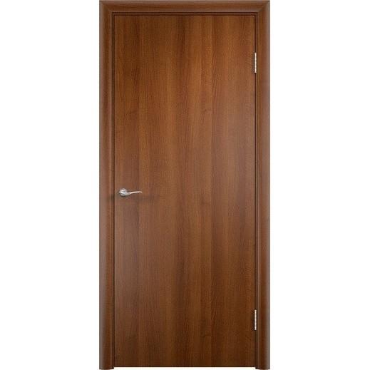 Строительная ламинированная дверь «ГЛП» (таволато, глухая)