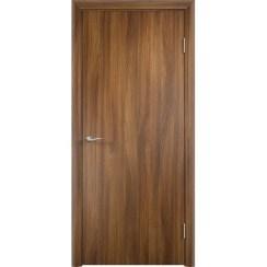 Строительная ламинированная дверь «ГЛП» (акация, глухая)