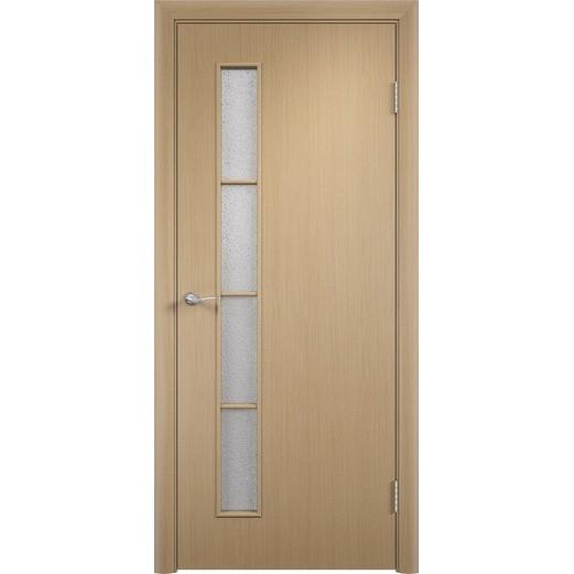 Межкомнатная ламинированная дверь «C-14 ДО» (со стеклом)