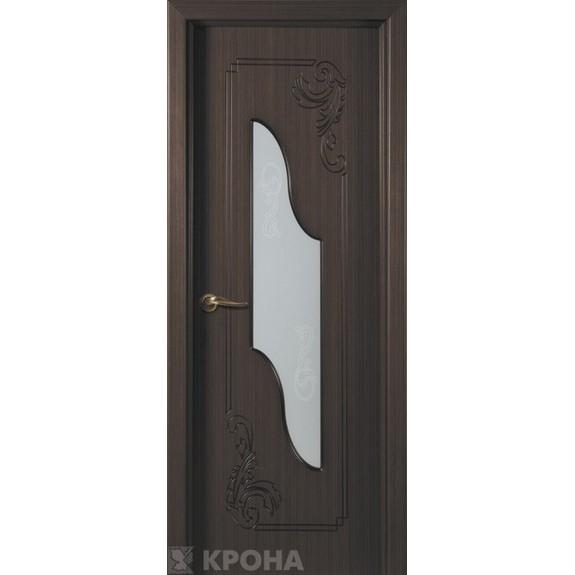 Межкомнатная дверь с натуральным шпоном «Версаль ДО» (со стеклом)