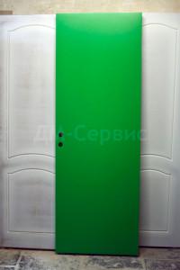 Крашенная дверь