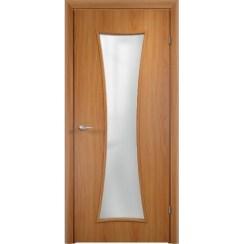 Строительная дверь с четвертью ДСЧ 74 (со стеклом)