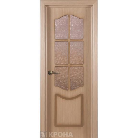 Межкомнатная дверь с натуральным шпоном «Классик ДО» (со стеклом)