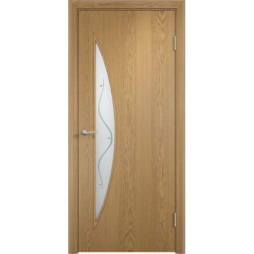 Межкомнатная ламинированная дверь «C-06 Ф» (со стеклом)