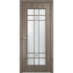 Межкомнатная дверь экошпон «C-15 Ф» (со стеклом)