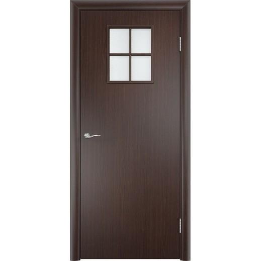 Строительная усиленная дверь УД 34 (со стеклом)