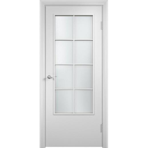 Строительная усиленная дверь УД 57 (со стеклом)
