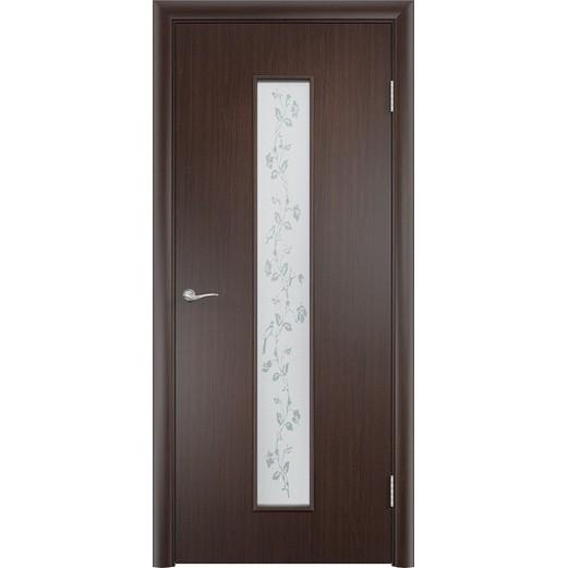Межкомнатная ламинированная дверь «C-17 Х» (со стеклом)