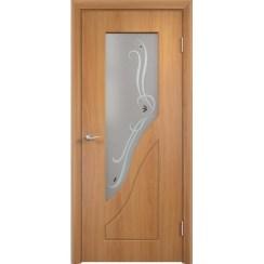 Межкомнатная дверь с пленкой ПВХ «Камила ДО» (со стеклом)
