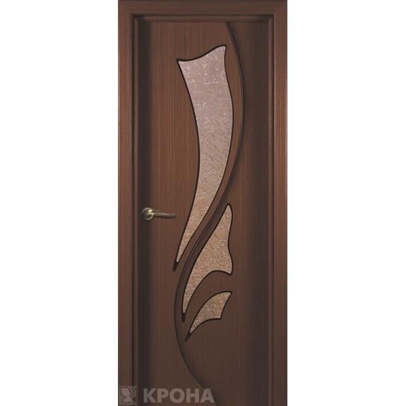 Межкомнатная дверь с натуральным шпоном «Лидия ДО» (со стеклом)