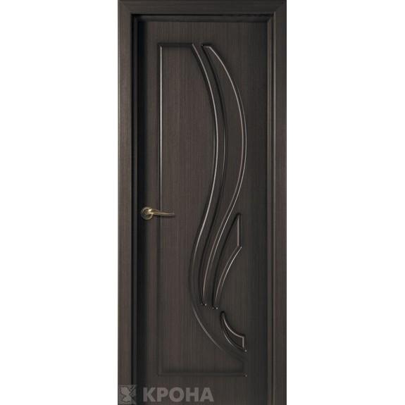 Межкомнатная дверь с натуральным шпоном «Лотос ДГ» (глухая)