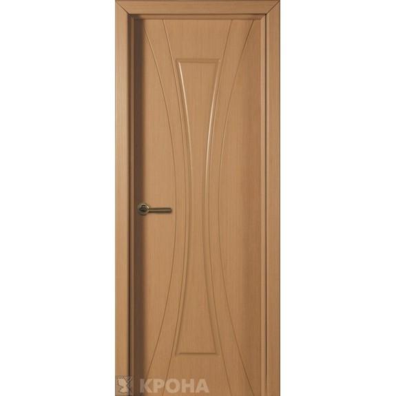 Межкомнатная дверь с натуральным шпоном «Эстет ДГ» (глухая)