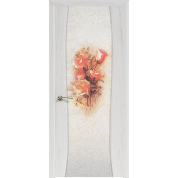 Межкомнатная шпонированная дверь «Буревестник-2 Ренессанс» (со стеклом)