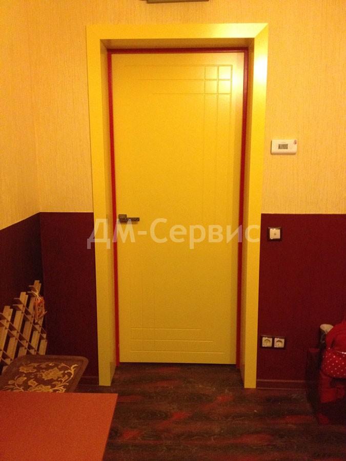 Белая дверь по каталогу RAL