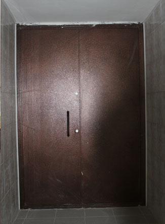 Двери подъездные
