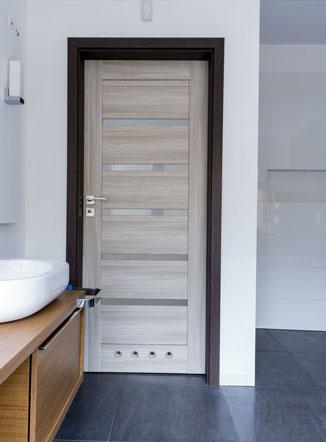 Двери с покрытием ПВХ